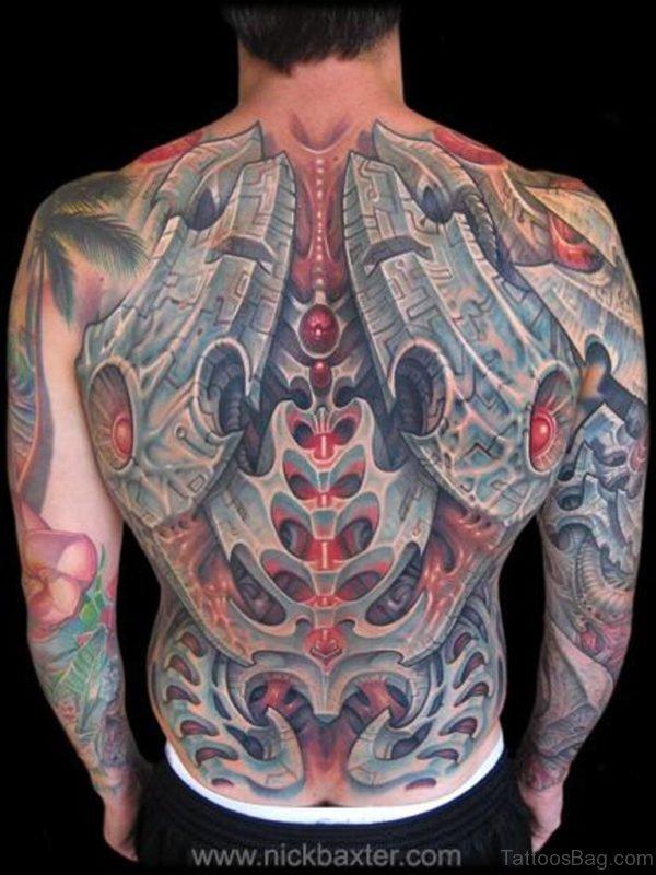 3D Biomechanical Tattoo Design