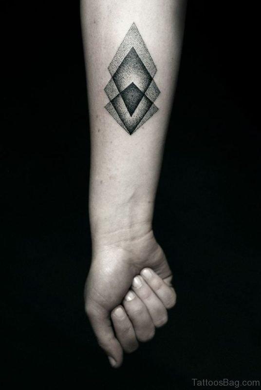 3D Geometric Tattoo