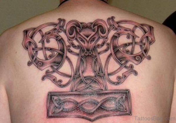 Adorable Viking Tattoo