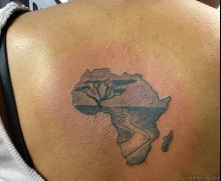 60 outlandish map tattoos for back