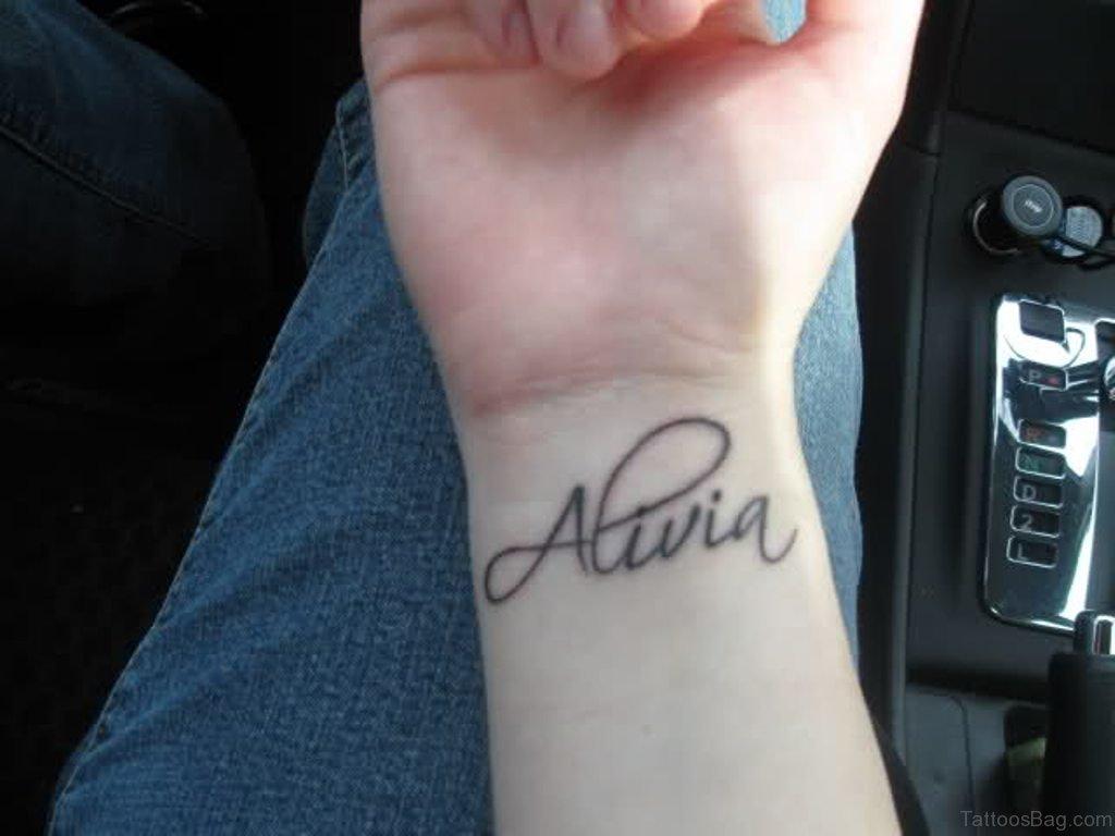 Name tatoos