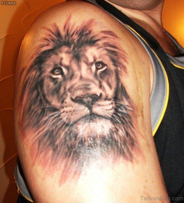 Amazing Lion Tattoo Design