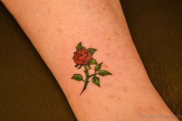 Small Flower Tattoos For Wrist