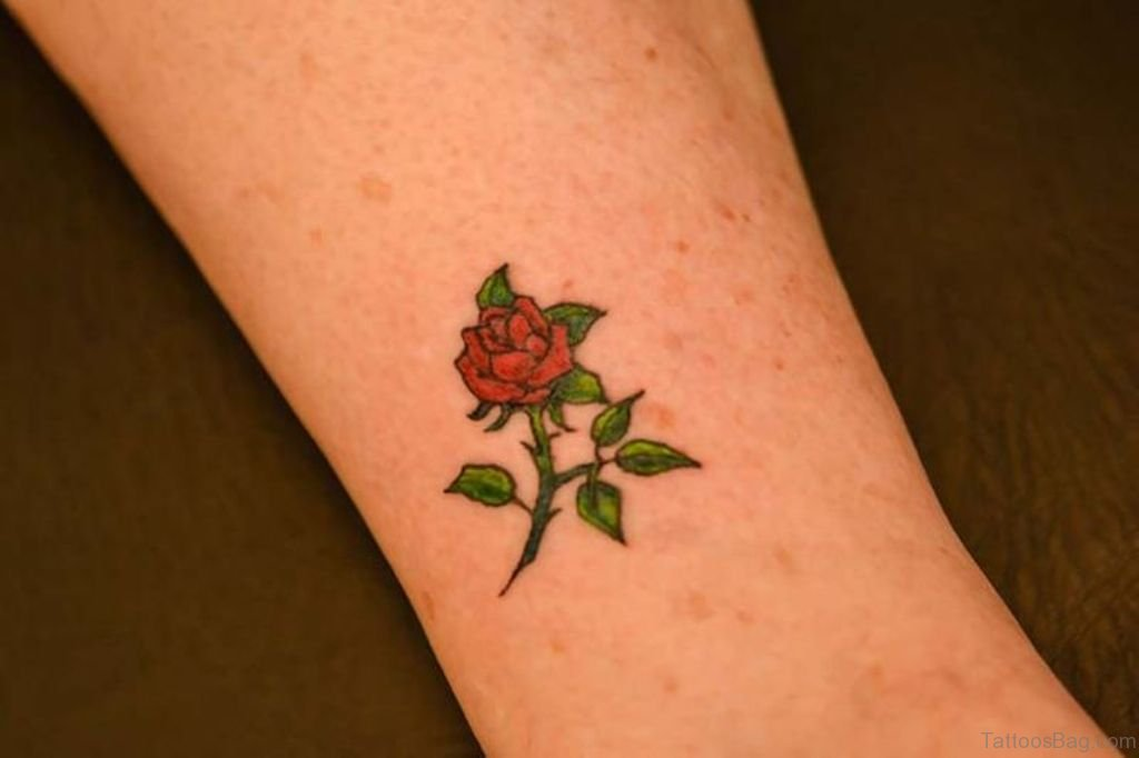 Flower Design On The Wrist Henna Tattoo: 80 Lovable Flower Tattoos For Wrist