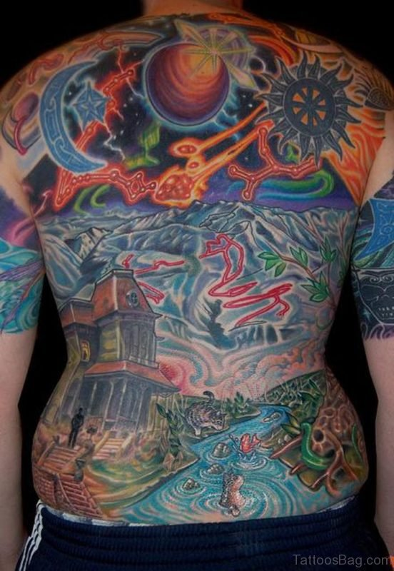 Amazing Back Tattoo