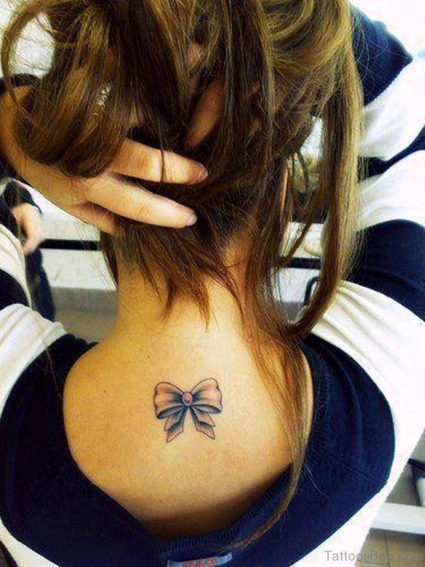 Amazing Bow Tattoo