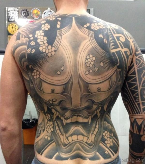 Amazing Demon Tattoo