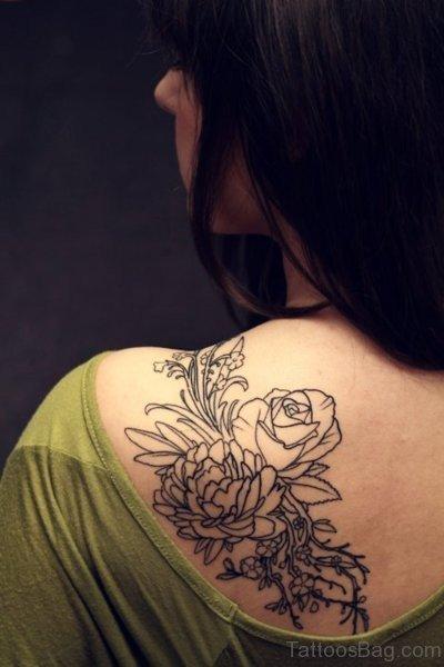Amazing Flower Designer Tattoo