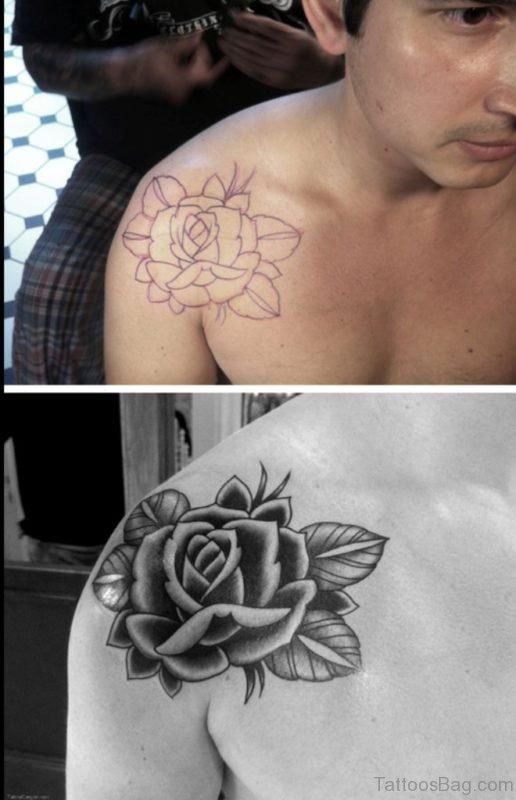 Amazing Flower Tattoo Design