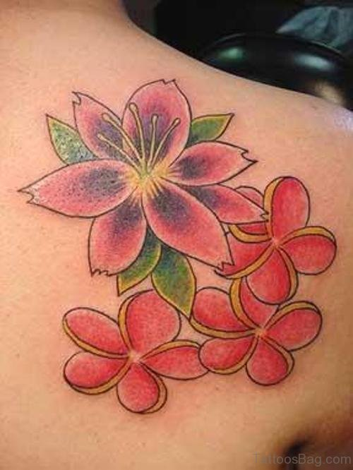Amazing Lily Flower Tattoo