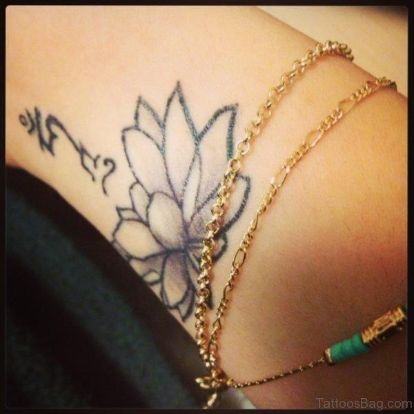Amazing Lotus Flower Tattoo
