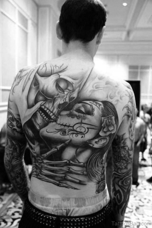 Amazing Skull Tattoo