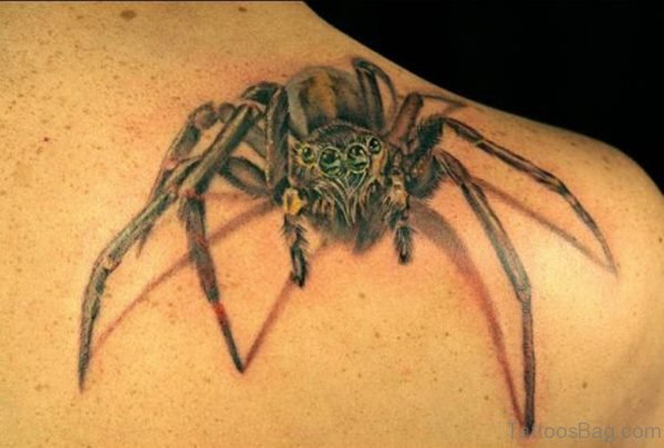 Amazing Spider Tattoo