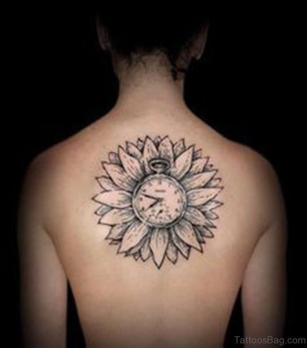 Amazing  Sunflower Tattoo