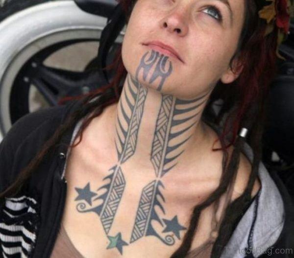 Amazing Tribal Tattoo For Women