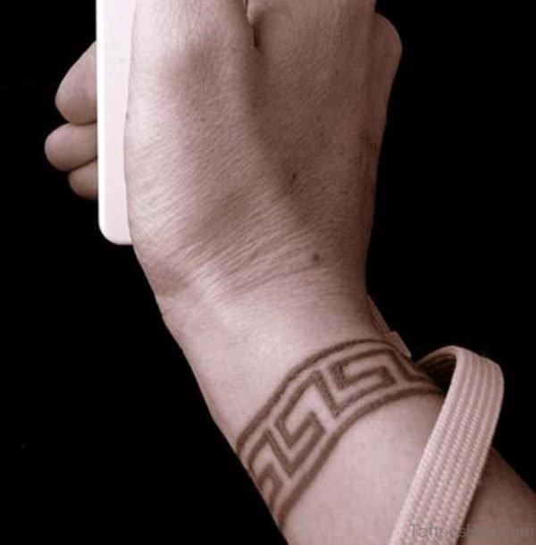 Ancient Greek Tattoo On Wrist