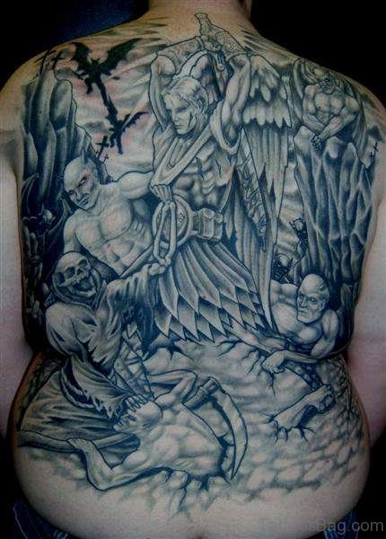 Angel And Demons TattooAngel And Demons Tattoo