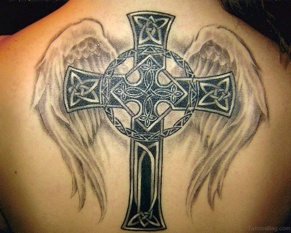 306bd4f10 60 Fabulous Cross Tattoos For Back