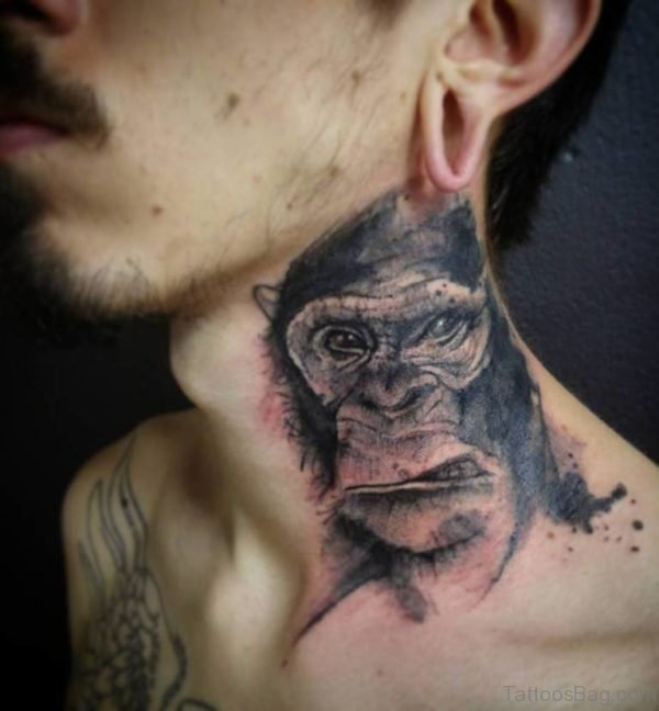 Angry Monkey Tattoo