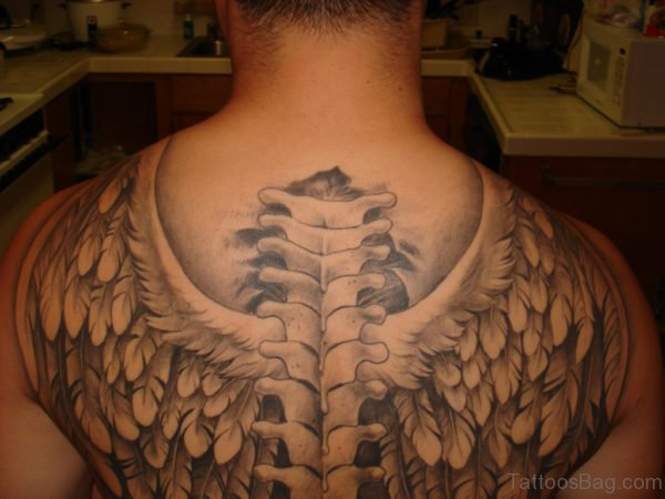 Armor Tattoo On Back