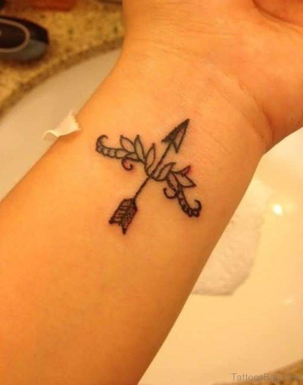 Arrow Tattoo On Wrist