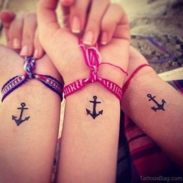 Arrows Anchors Tattoo