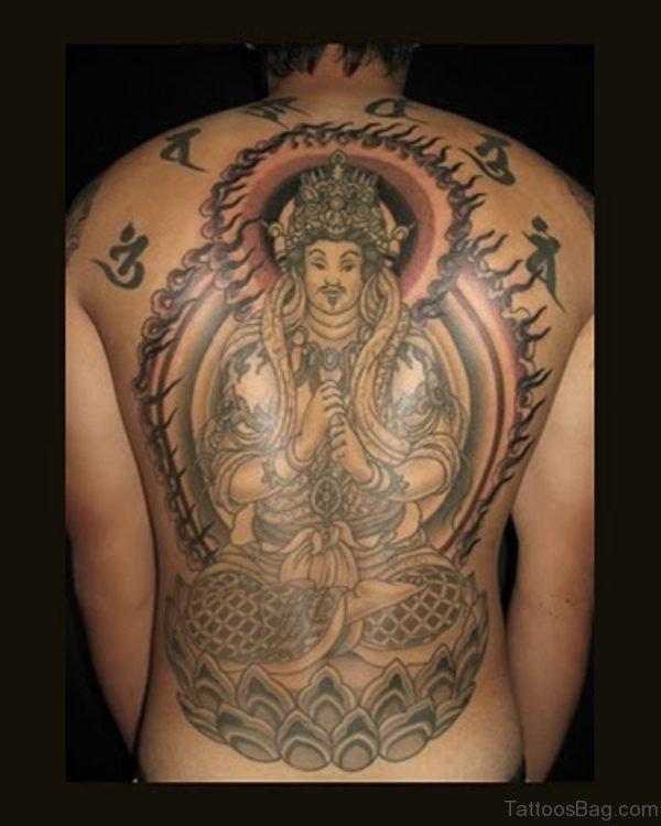 Asian Buddha Tattoo