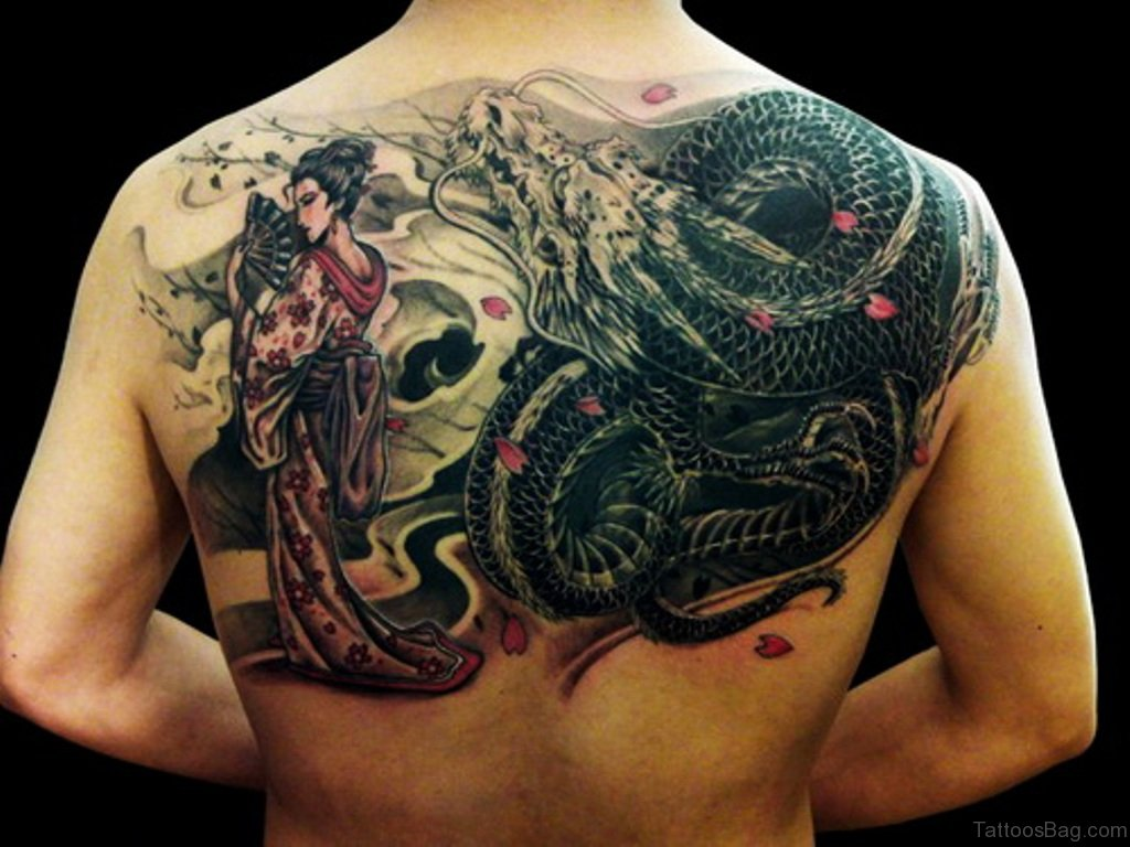 80 breathtaking dragon tattoo designs for Oriental tattoo