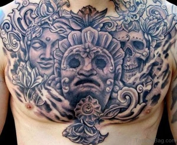 Atez Chest Tattoo