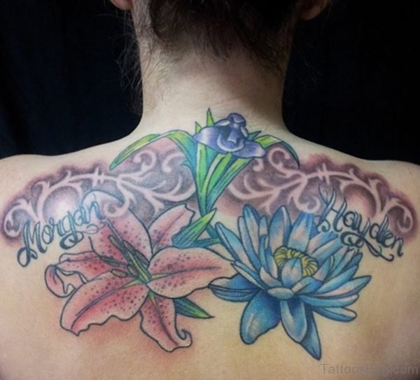 Lily Flower Tattoo