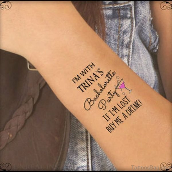 Attarctive Wrist Tattoo