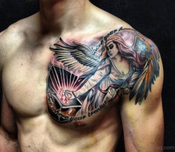 Attractive Angel Tattoo