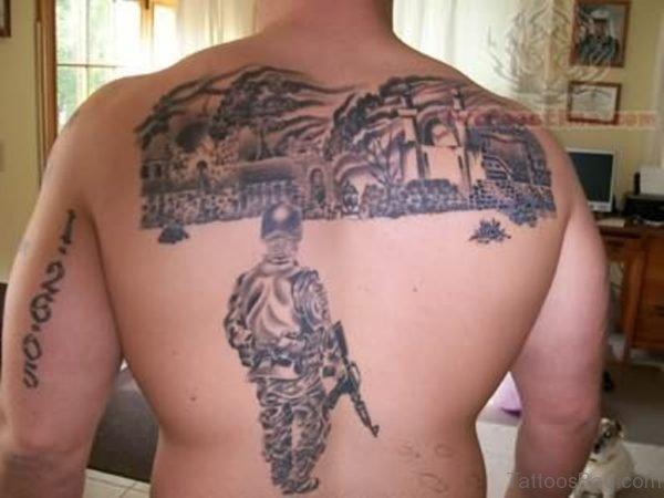 Attractive Back Tattoo