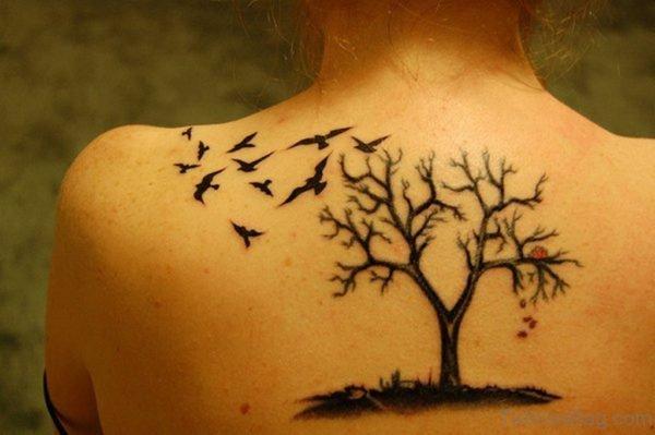 Attractive Birds Tattoo