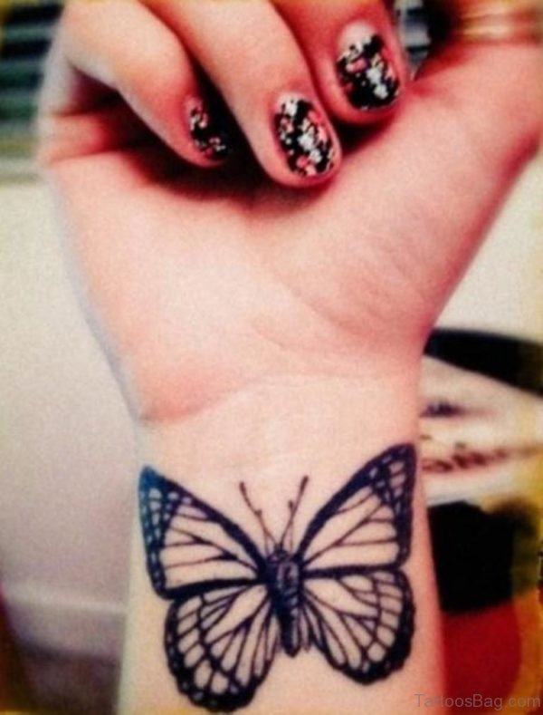 Attractive Butterfly Tattoo Design