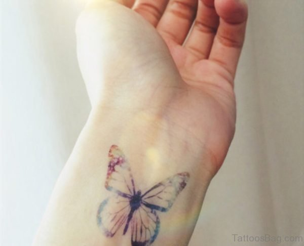 Attractive Butterfly Tattoo