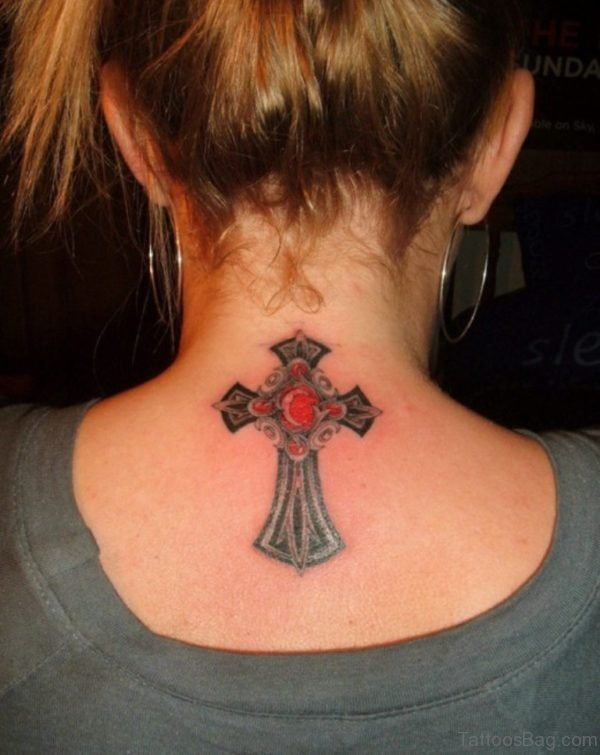 Attractive Cross Tattoo