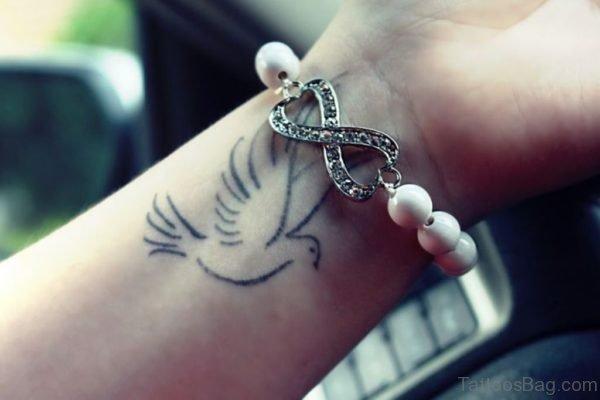 Attractive Dove Tattoo Design