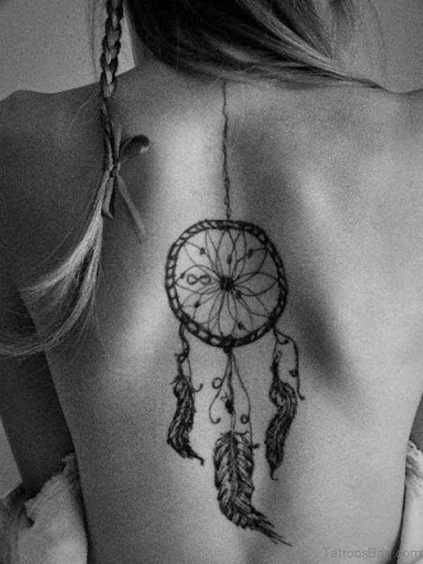 Attractive Dreamcatcher Tattoo