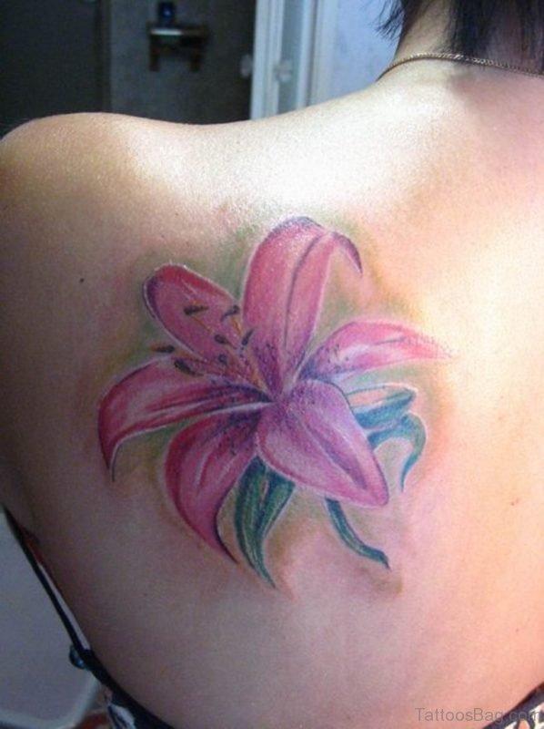 Attractive Flower Tattoo