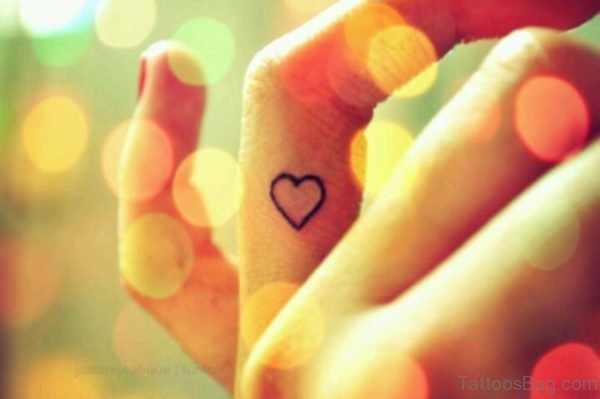 Attractive Heart Tattoo
