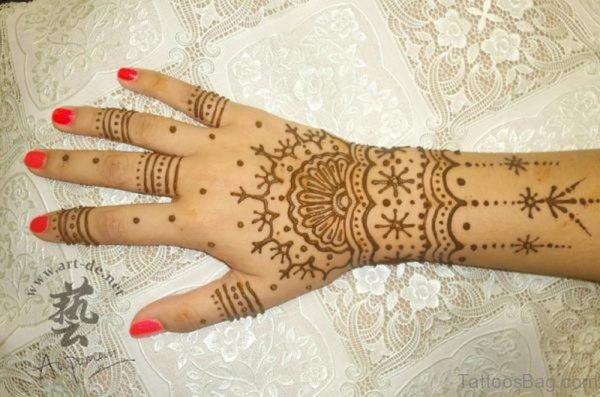 Attractive Henna Tattoo Design