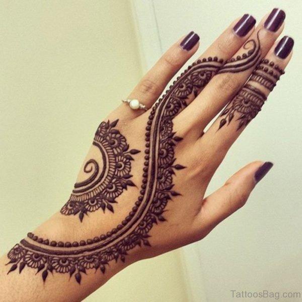 Attractive Henna Tattoo