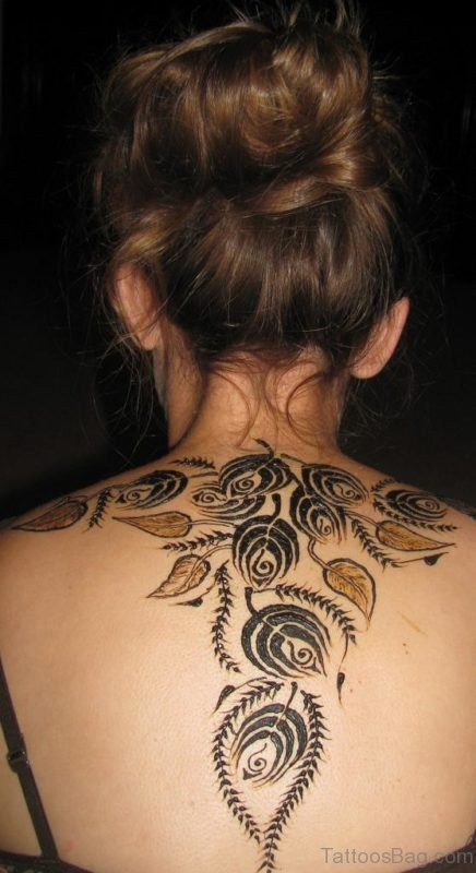 Attractive Henna Tattoo