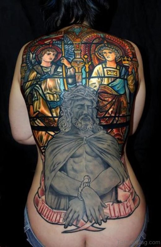 Attractive Religious Tattoo