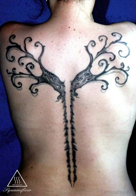 Attractive Tree Tattoo