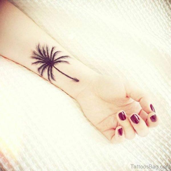 Attractive Tree Tattoo On Wrist
