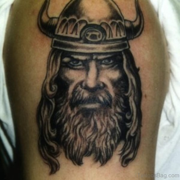 Attractive Viking Tattoo Design