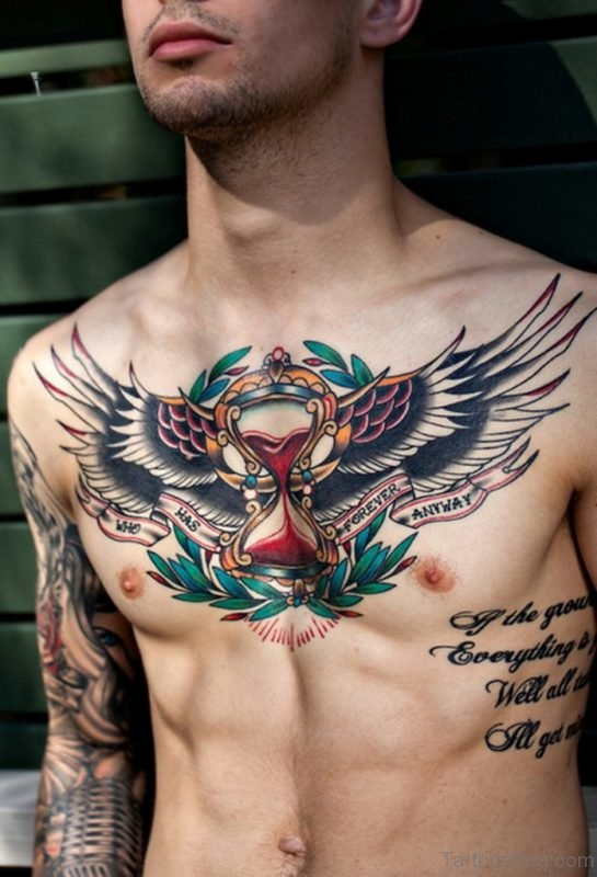 Attractive Wings Tattoo