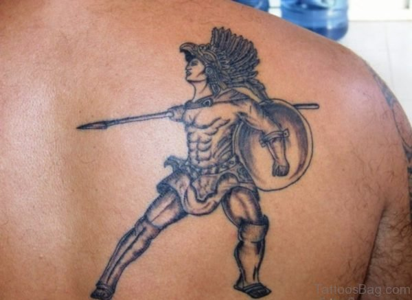 Awesome Aztec Warrior Tattoo